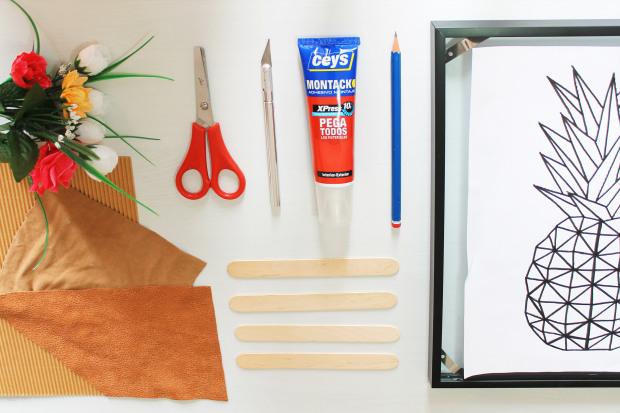 hacer piña con materiales reciclados room decor.jpg