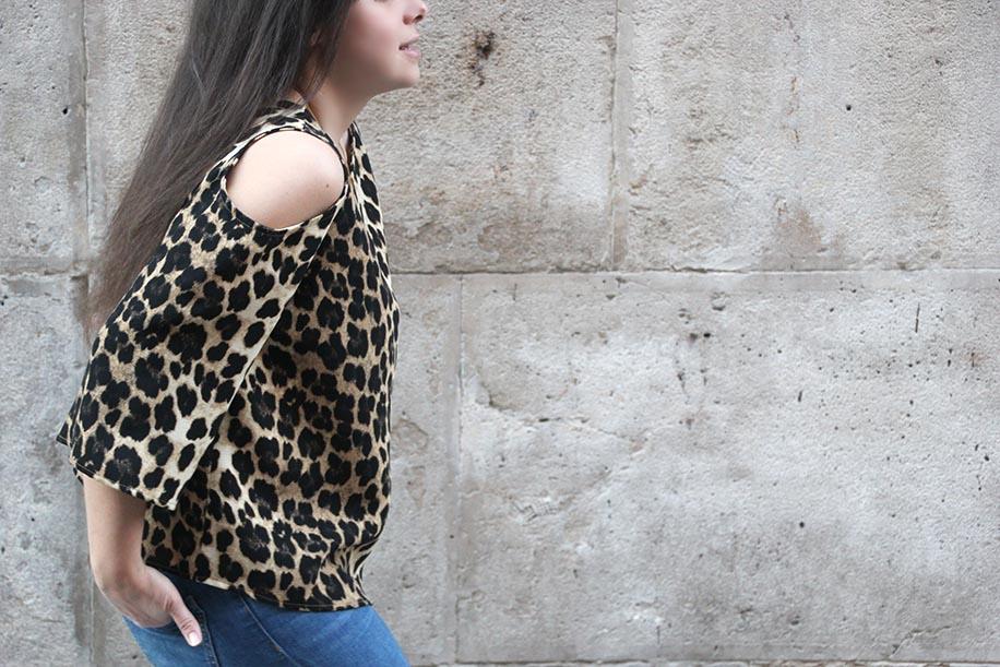 Diy como hacer blusa con hombros descubiertos (patrones gratis ...