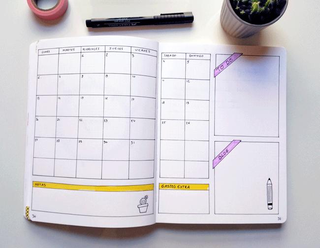 calendario-mensual-bullet-journal