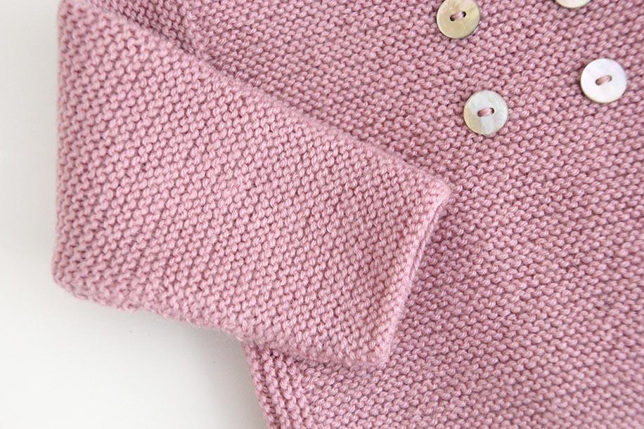 DIY Cómo hacer rebeca de lana para bebés - Handbox Craft Lovers ...