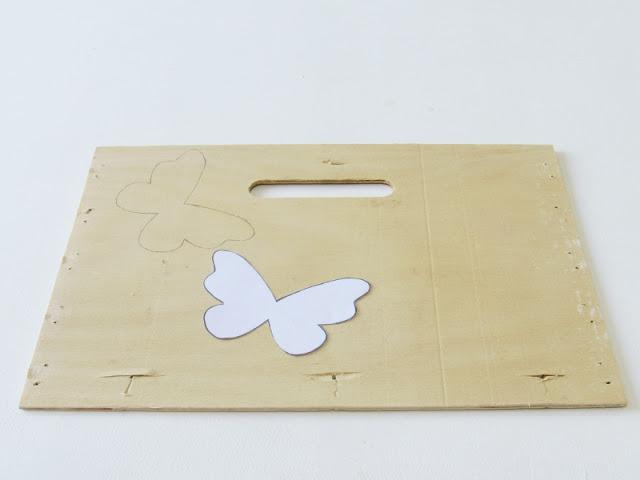 imagen plantilla mariposa