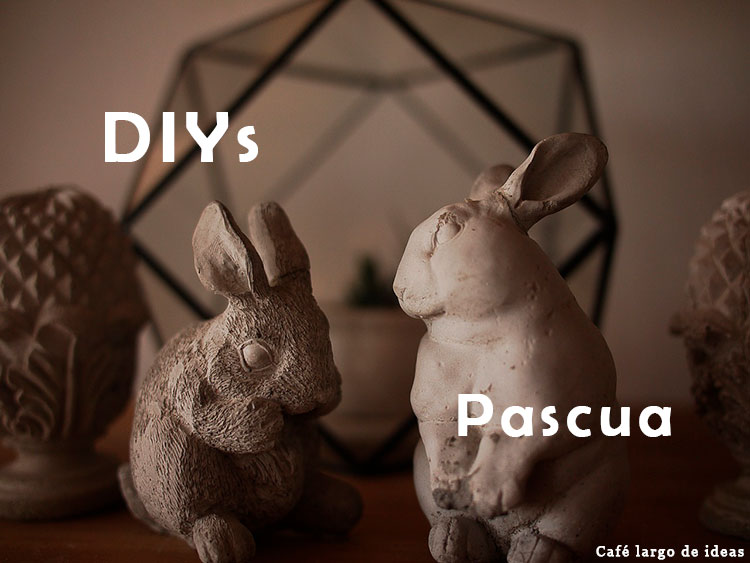 DIYs de conejos para Pascua