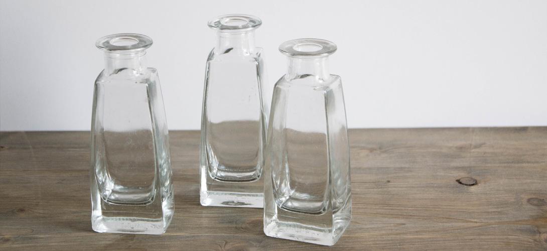 jarrones DIY - frascos de ambientadores para reciclar