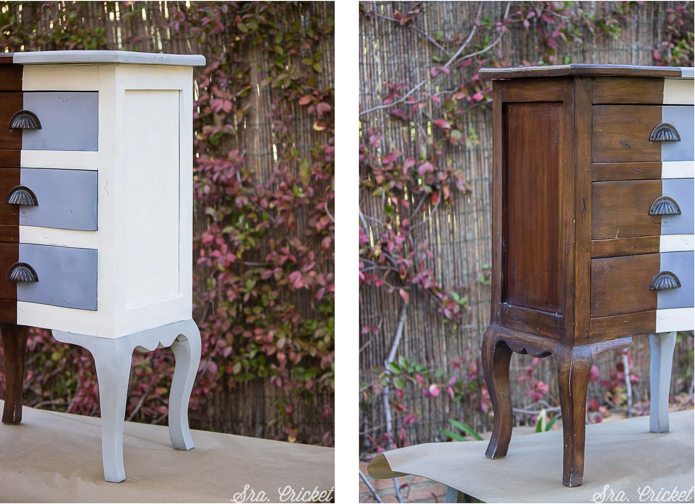 pintar mueble con spray chalk paint