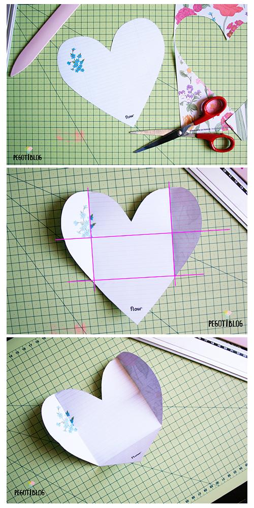 Cómo hacer sobres de papel de forma muy sencilla - Pegotiblog - Tutorial