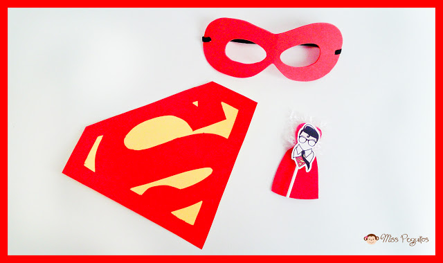 diy superman antifaz