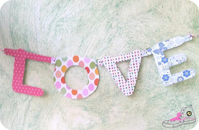 guirnalda letras