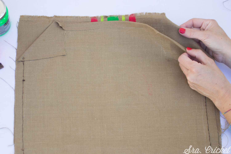 bolso handmade saco