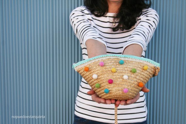 Cómo decorar tu bolso para el verano. DIY. Bolso verano