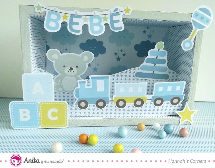 regalos originales para beb hechos con papel scrap
