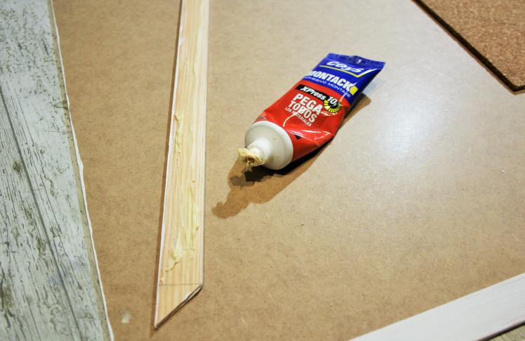 DIY Mapamundi de corcho