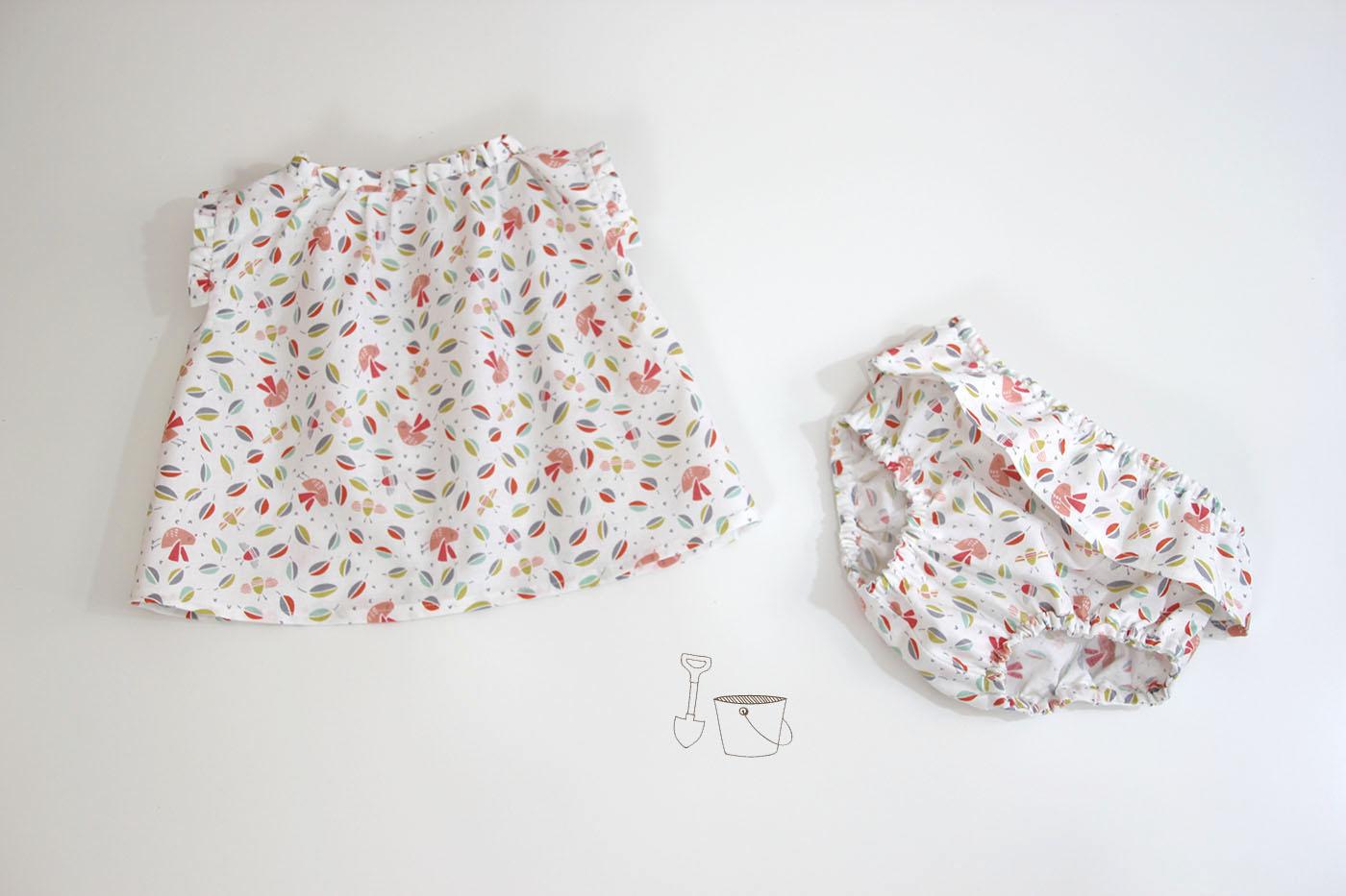 DIY Costura: Blusa para bebés (Tutorial y patrones gratis) - HANDBOX