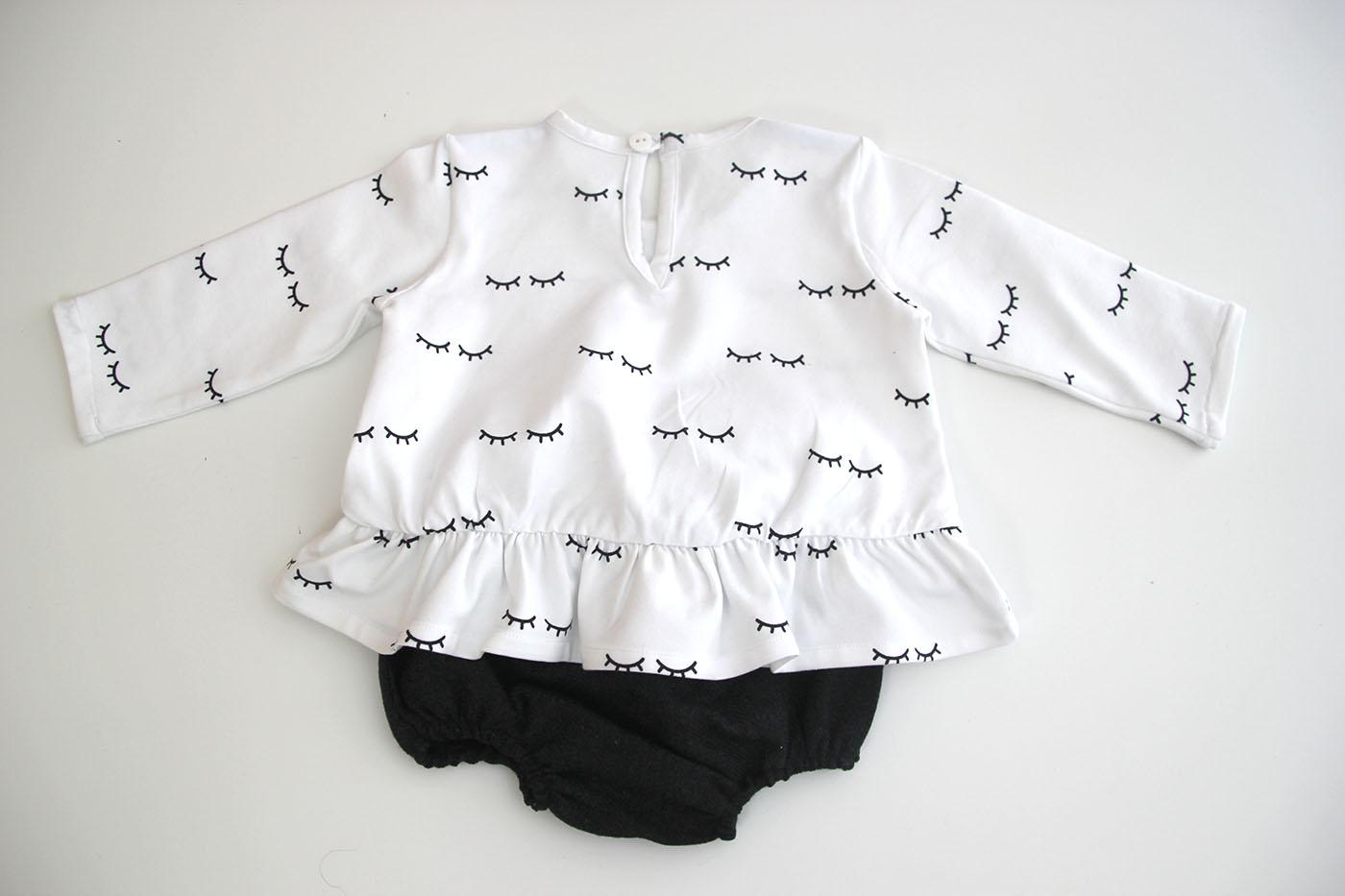 DIY Cómo hacer camiseta con volante para bebés (patrones gratis ...