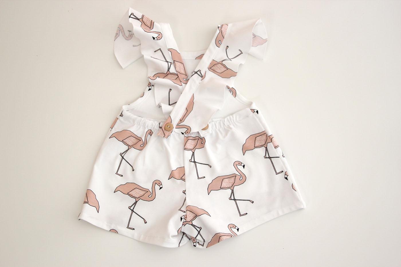 DIY Costura y patrones mono de flamencos (ropa para niños) - Handbox ...