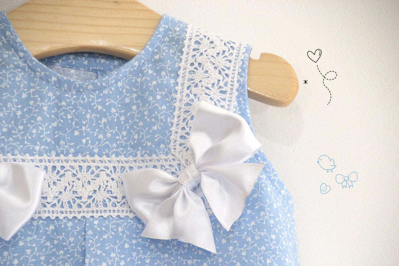 Diy Costura Como Hacer Vestido Para Niñas Con Lazos