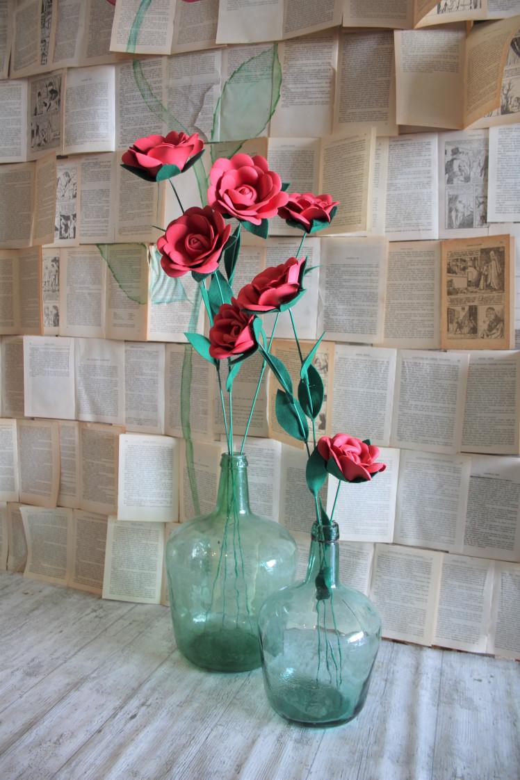 Final de rosas en garron