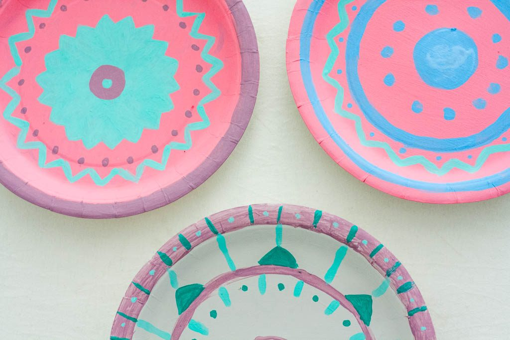 platos decorados diy