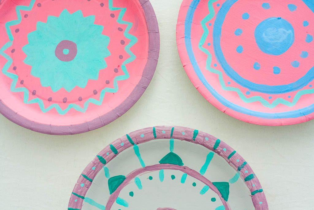 platos decorados diy