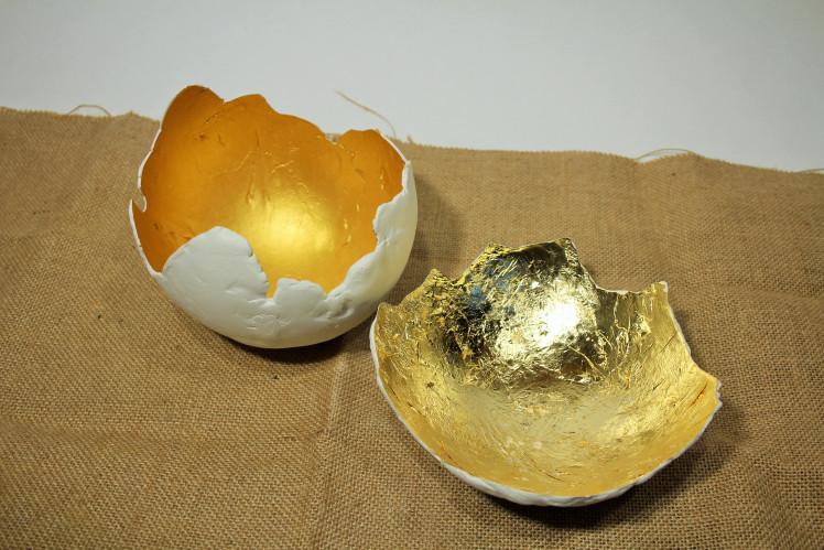 DIY Huevos dorados