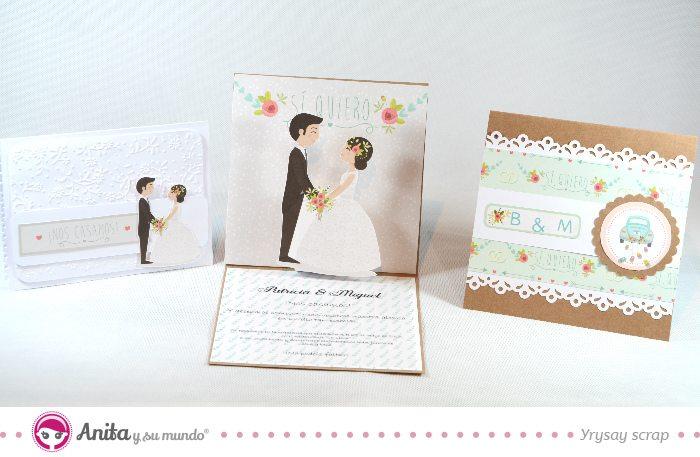 3 invitaciones de boda caseras fáciles de hacer - HANDBOX