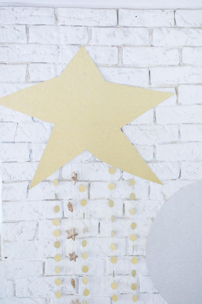 Estrella y Luna decoración