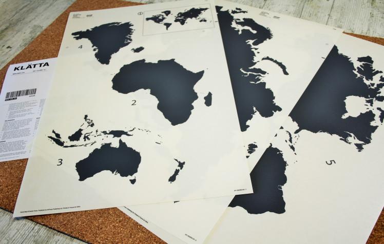 Materiales para un MapaMundi