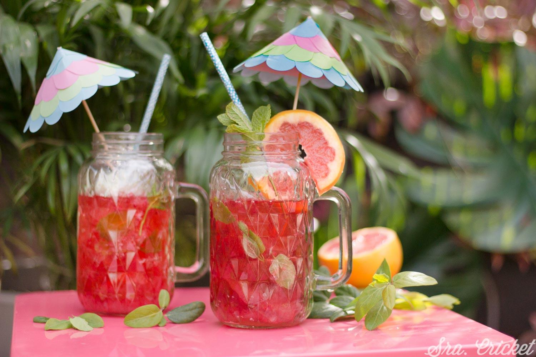 sombrillas para cocktail