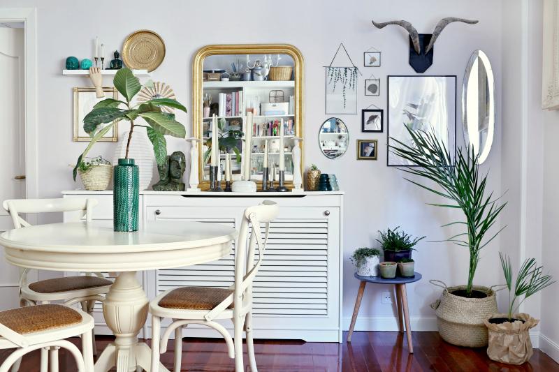 Cómo montar espejos vintage sin marco en la pared - Handbox Craft ...