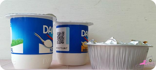 envases de yogur