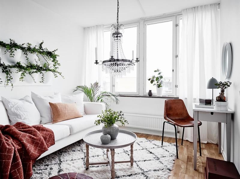 Decorar_con_plantas_de_interior_un_mini_piso_decoinspirción_decolook_salón