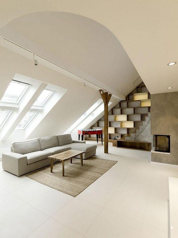 Muebles para un ático