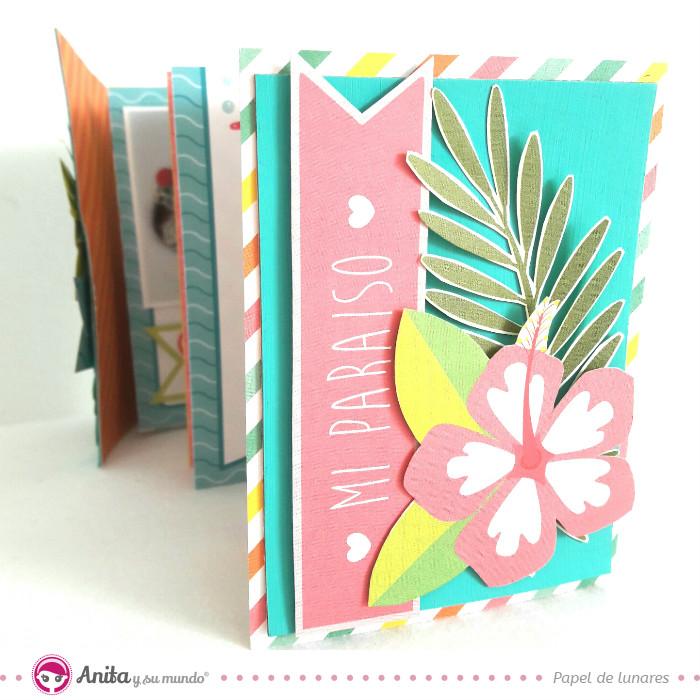 coleccion-mi-paraiso-scrapbooking-minialbum