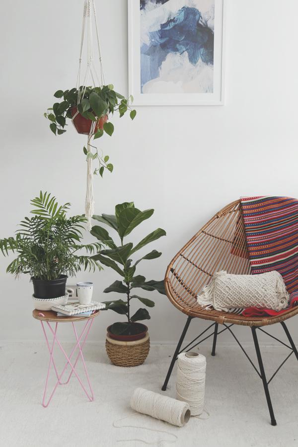 colgante-macrame-planta-plant-hanger-diy