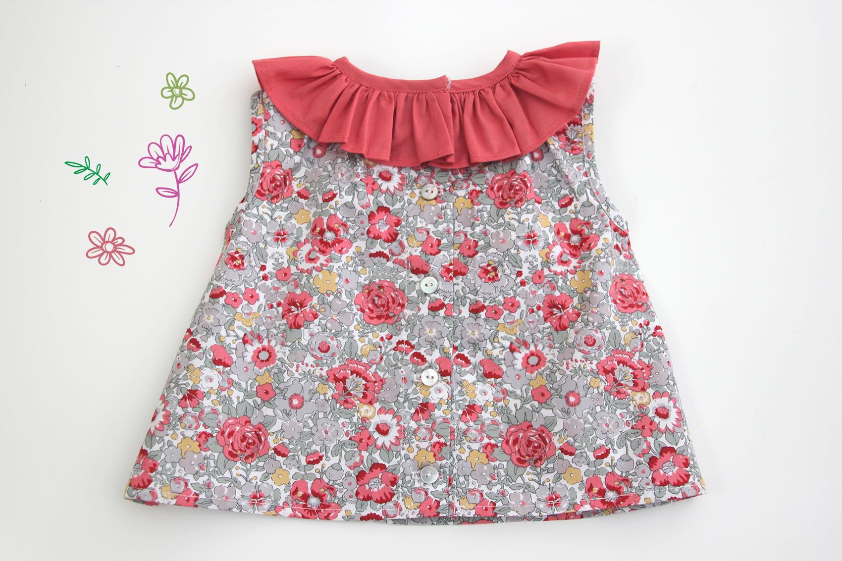 Resultado de imagen para Como Hacer Una Blusa para niña