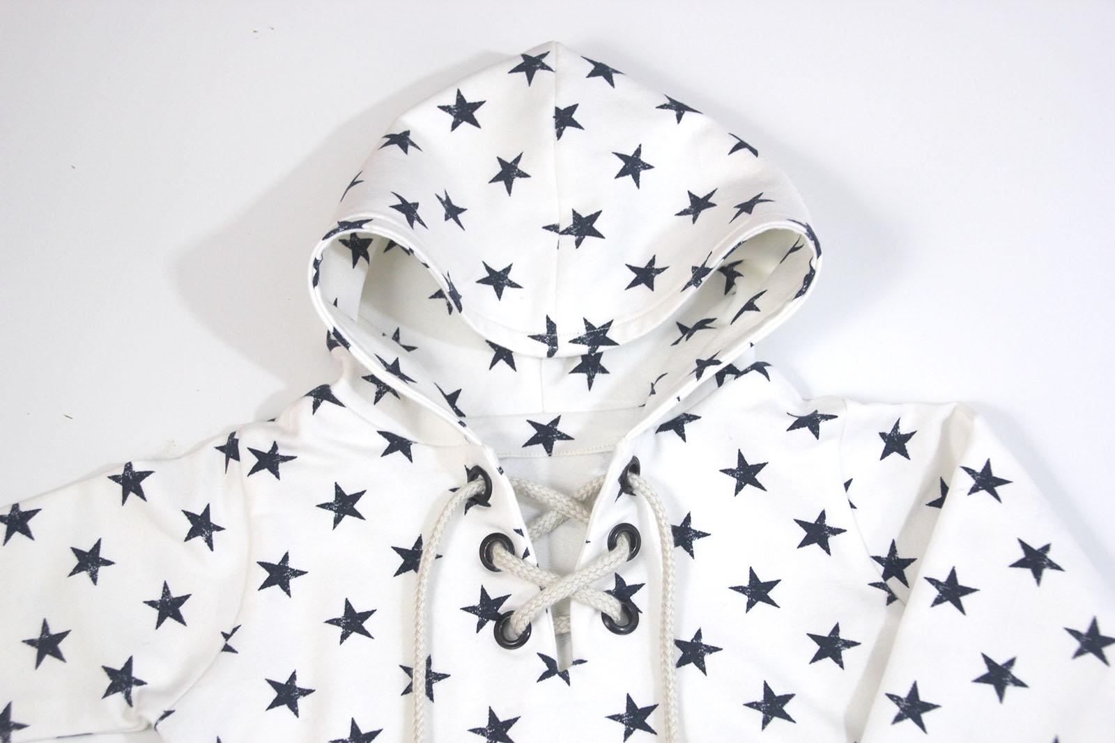 DIY Costura: Cómo hacer sudadera con capucha para niños (patrones ...