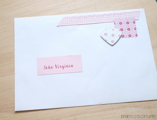 Tarjeta fácil para el Profesor- Easy card for teacher