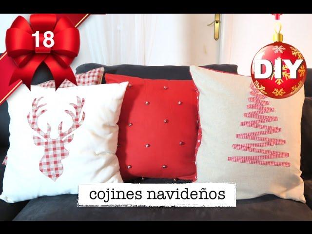 Como Hacer Cojines Navidenos Decoracion De Navidad Facil Y - Decoracion-navidea-facil-de-hacer