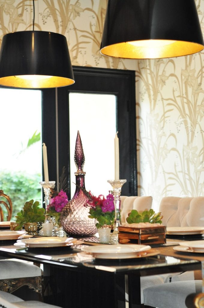5_Ikea_hacks_para_hacer_tus_propias_lámparas_glamour_estilo_negro_ oro