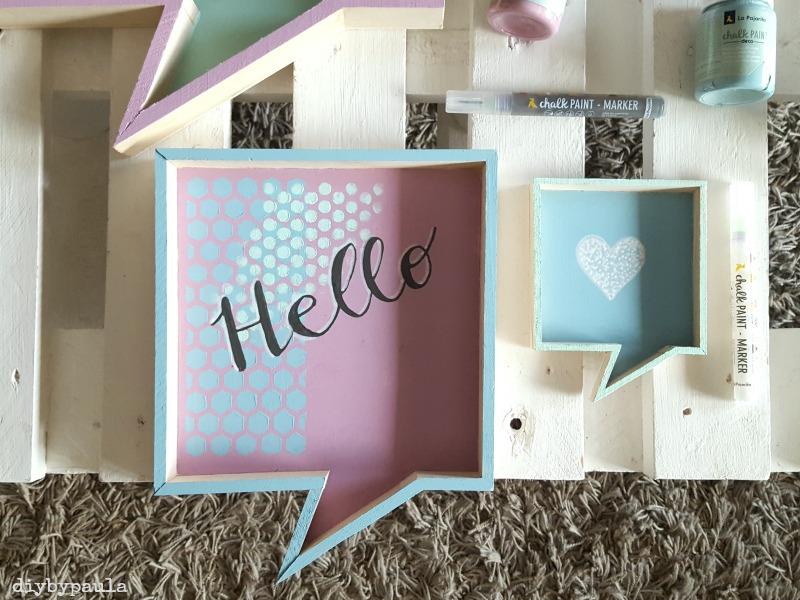 Cuadros de madera decorados Handbox Craft Lovers Comunidad DIY