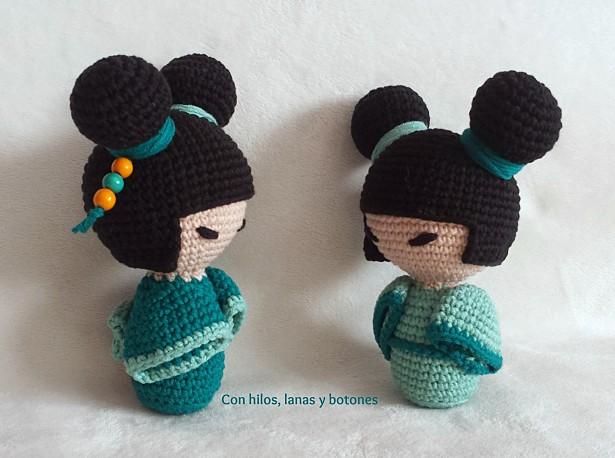 Con hilos, lanas y botones: Kokeshi silencia portazos
