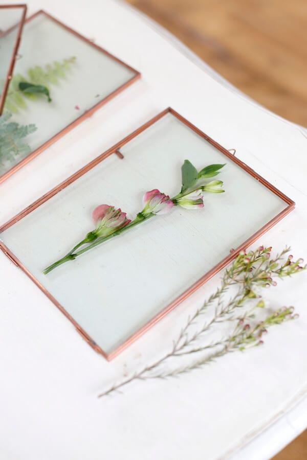 cuadro-hojas-flores-azahar-vidrio-decoracion-wall-plants-diy