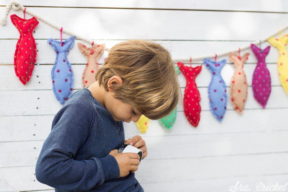 decoración infantil guirnalda de peces