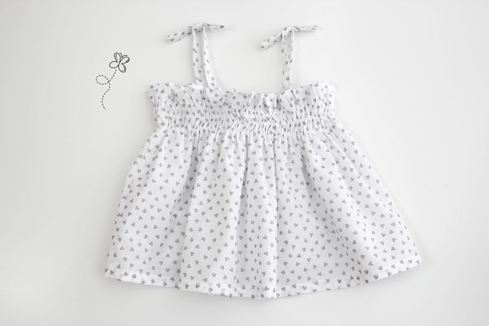 DIY Cómo hacer blusa fruncida niñas (patrones gratis incluidos ...