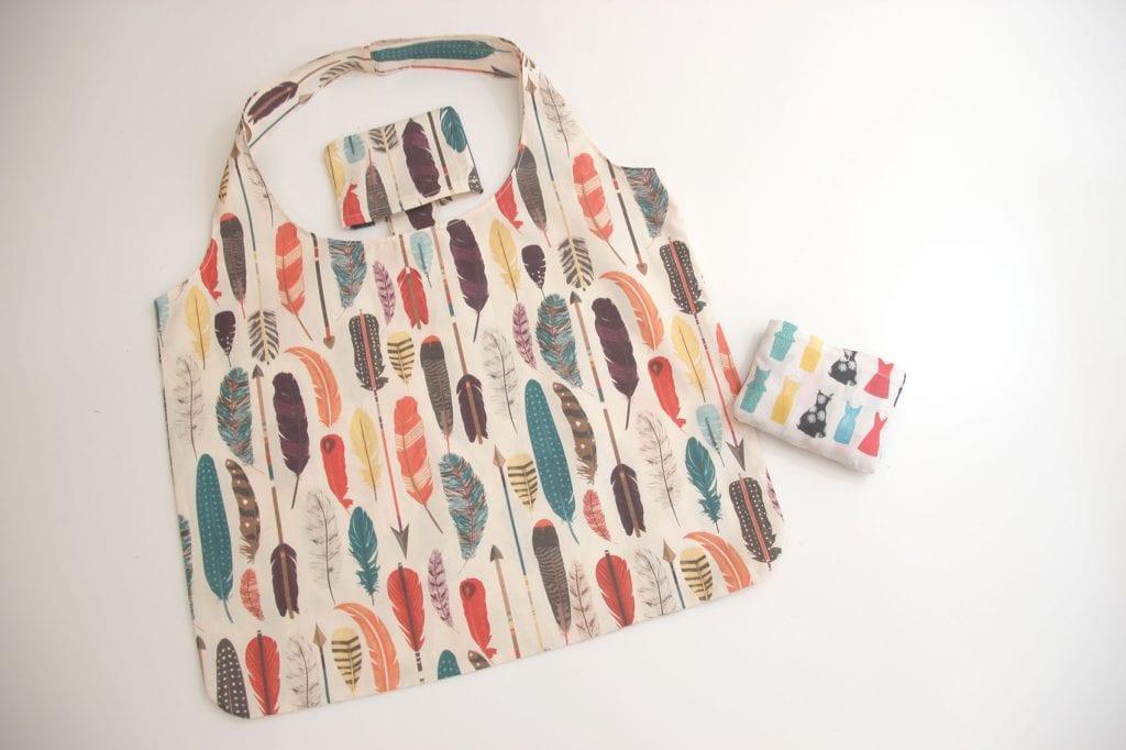 DIY Cómo hacer bolsa para la compra (patrones gratis) - Handbox ...