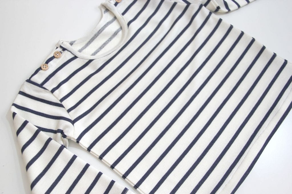 DIY Como hacer camiseta de rayas para niños (patrones gratis ...