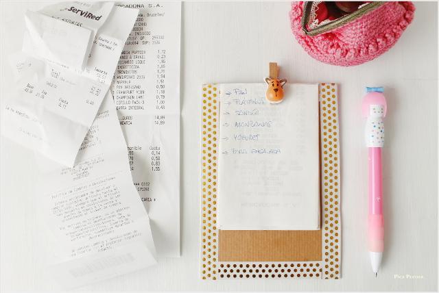 reciclaje-tiquets-compra-cuaderno-notas