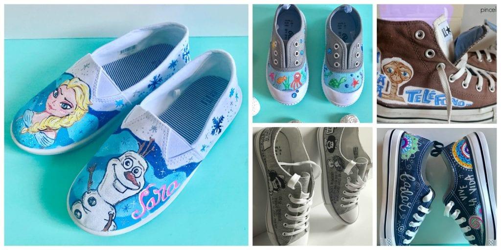 Zapatillas_personalizadas_pinceles_y_grapas