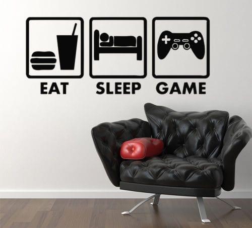 Decorar la habitación de un gamer con vinilos