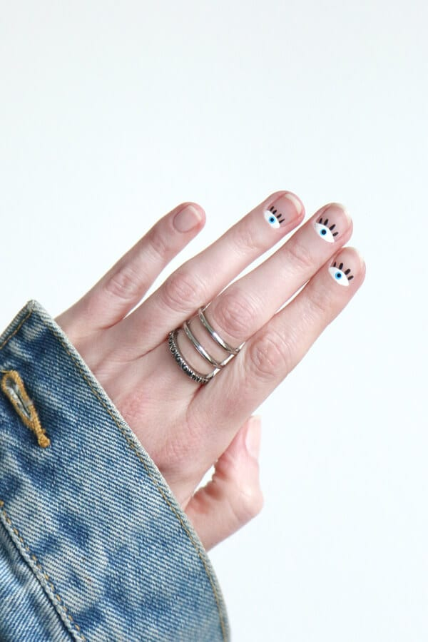 art-nail-ojos-eyes-diy-facil-easy-anillo