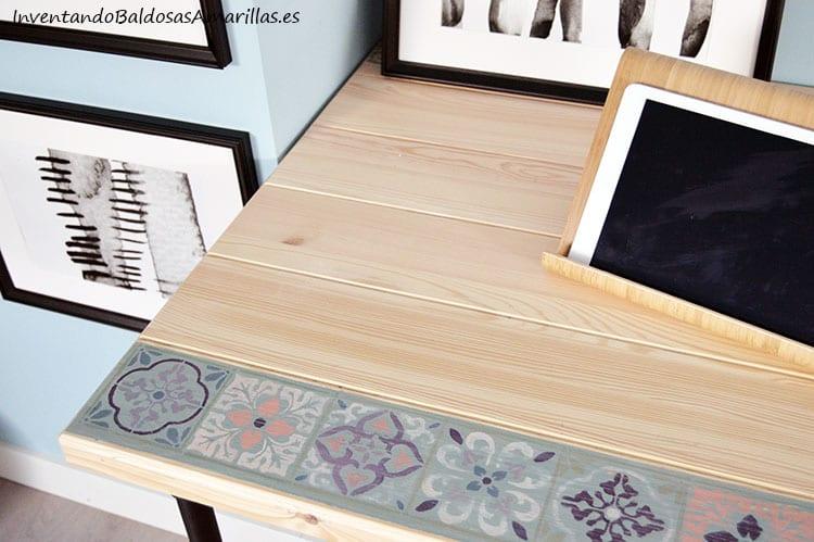 decorar-escritorio-madera-chalk-paint